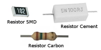 bentuk fisik resistor