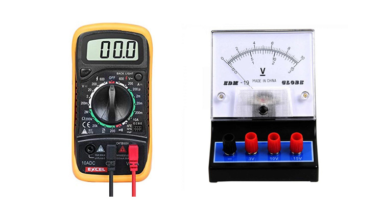 cara mengukur tegangan listrik