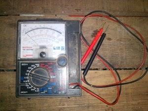 multimeter alat dan bahan praktek elektronika