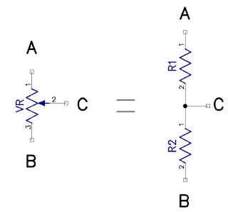 hambatan resistor variabel
