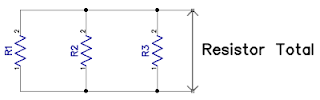 resistor paralel