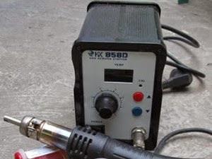 Solder Blower alat dan bahan praktek elektronika