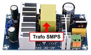 transformator pada modul smps