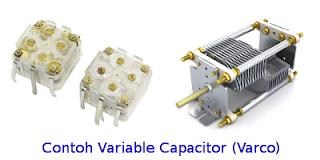 jenis variabel kondensator varco
