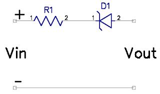 dioda zener rangkaian seri