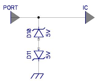 dioda zener sebagai pengaman ESD
